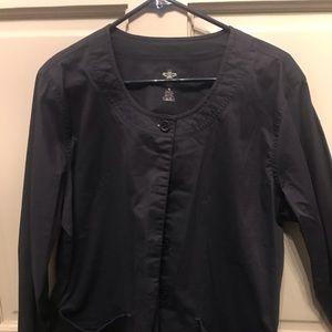 Rarely warn Couture scrub top sweater